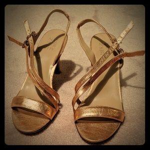 Rose Gold Naturalizer Kayla Sandals